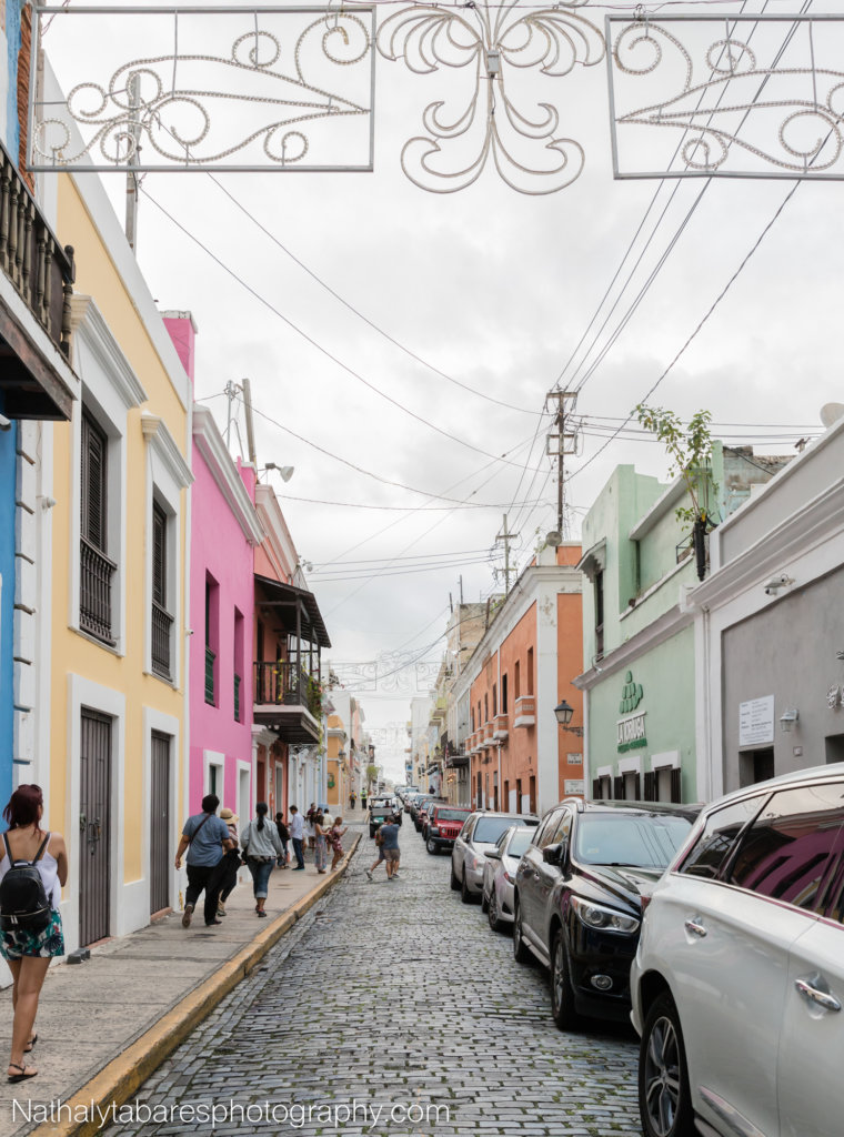 Streets of the Old San Juan