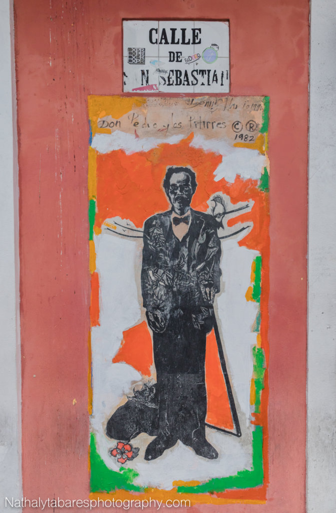 Painting in honor of Pedro Albizu Campos