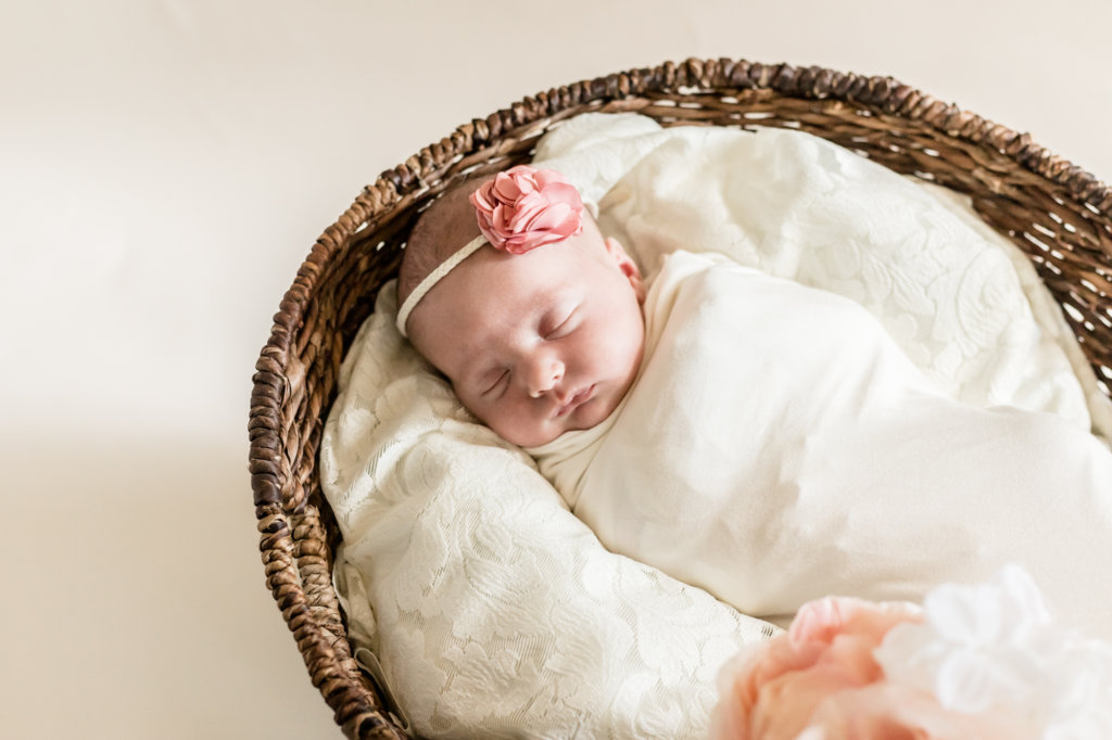 Newborn Session in Johns Creek, Ga