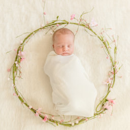 Adorable Newborn Portrait Session in Duluth, Ga